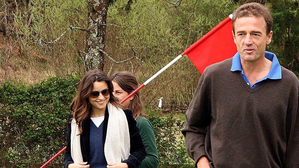 Lequio y su mujer, en una imagen de archivo.